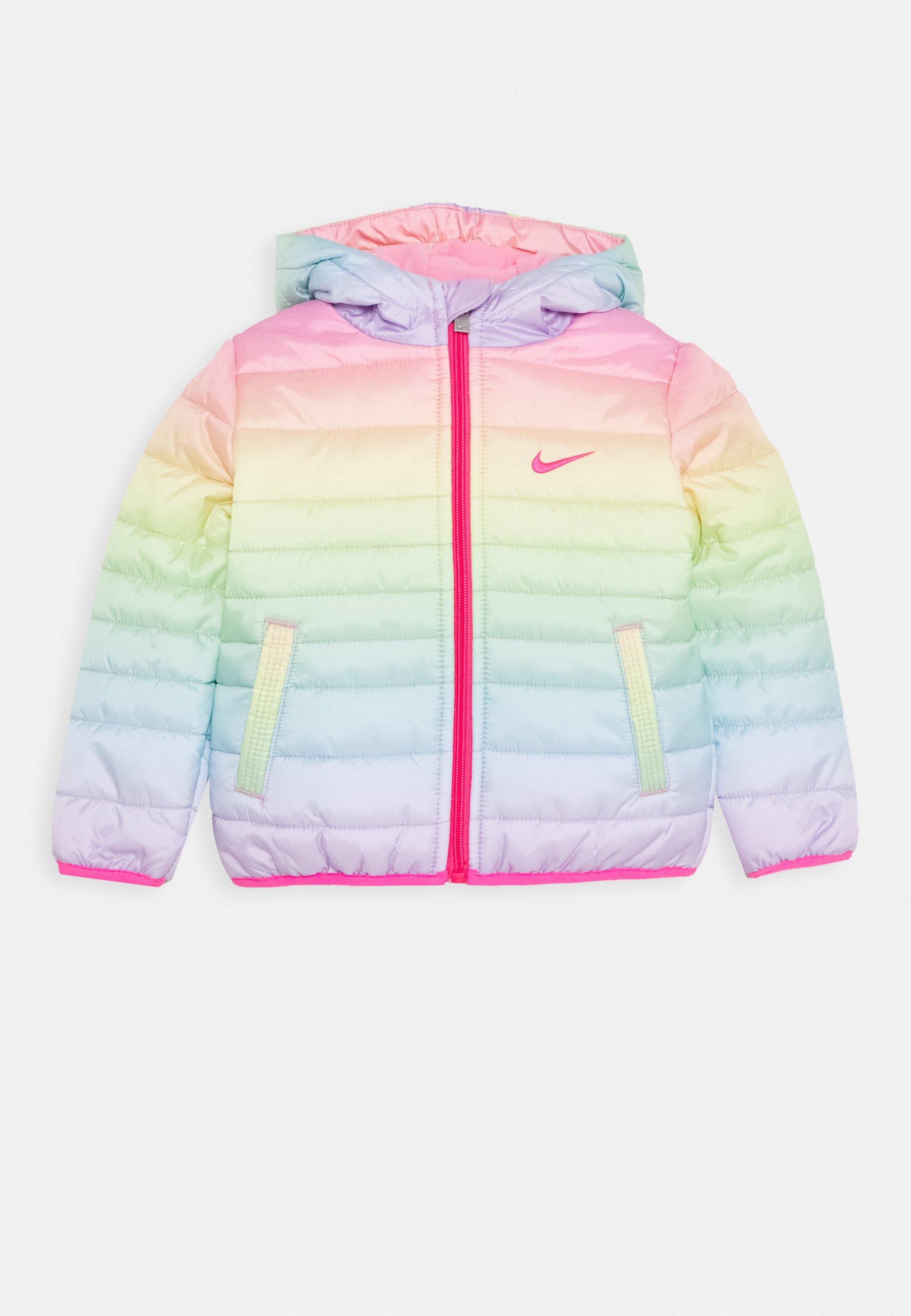 Triplicar Peticionario El actual  Nike Sportswear GIRL CORE PADDED - Chaqueta de invierno -  rainbow/multicolor - Zalando.es