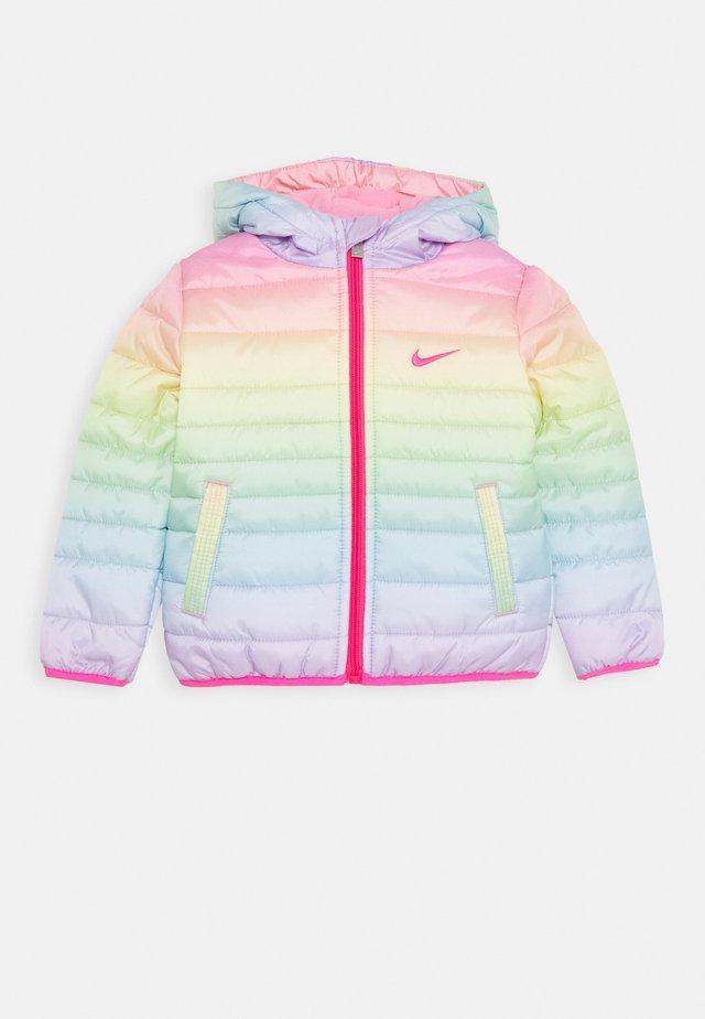 GIRL CORE PADDED - Veste d'hiver - rainbow