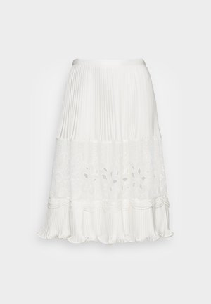 Pleated skirt - cloudy white