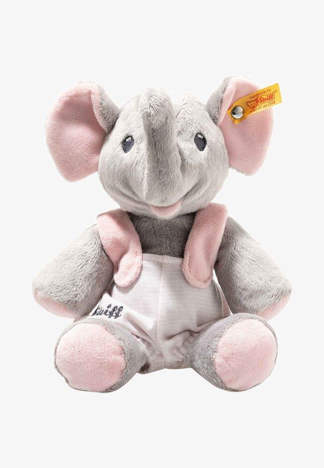 TRAMPILI ELEFANT  - Cuddly toy - grey/pink