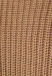 Selected Femme Tall - SLFSELMA NECK  - Sweter - beige - 2