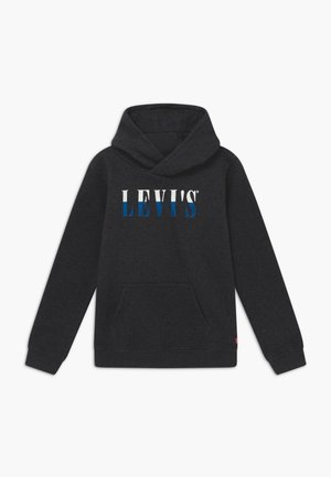 LOGO HOODIE - Hoodie - black heather