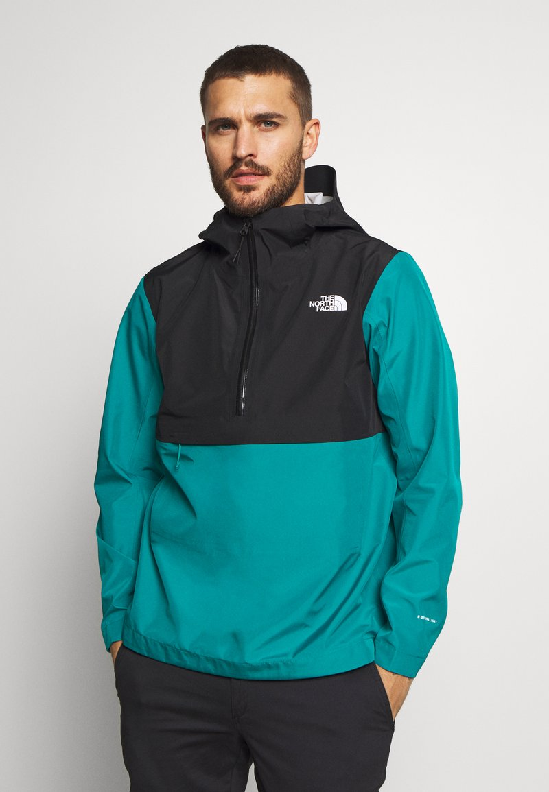 The North Face - MEN'S ARQUE JACKET - Hardshellová bunda - fanfare green/black