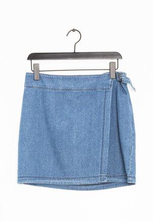 Spódnica z zakładką - blue