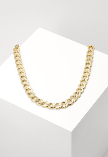 BIG CHAIN NECKLACE - Necklace - gold-coloured