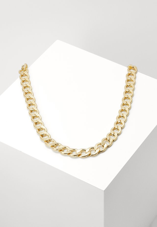 BIG CHAIN NECKLACE - Naszyjnik - gold-coloured