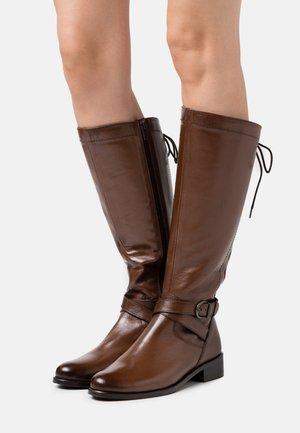 SABRAVI - Boots - cognac