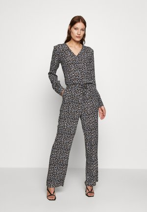 TRISH PRINT  - Tuta jumpsuit - dark bloom