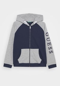 Guess - JUNIOR ACTIVE - Mikina na zip - deck blue - 0