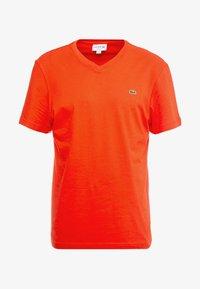 Lacoste - T-shirt basique - corrida - 4