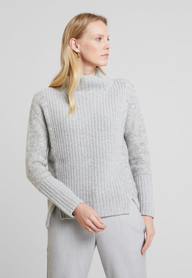 SLIGHTLY - Strikpullover /Striktrøjer - cement grey melange