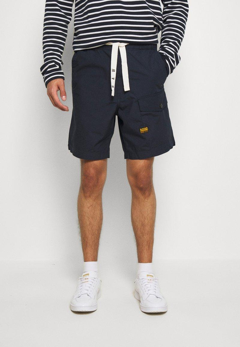 G-Star - FRONT POCKET SPORT SHORT - Shorts - pabe poplin - mazarine blue