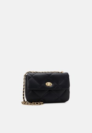 HANNA BAG - Across body bag - black/gold