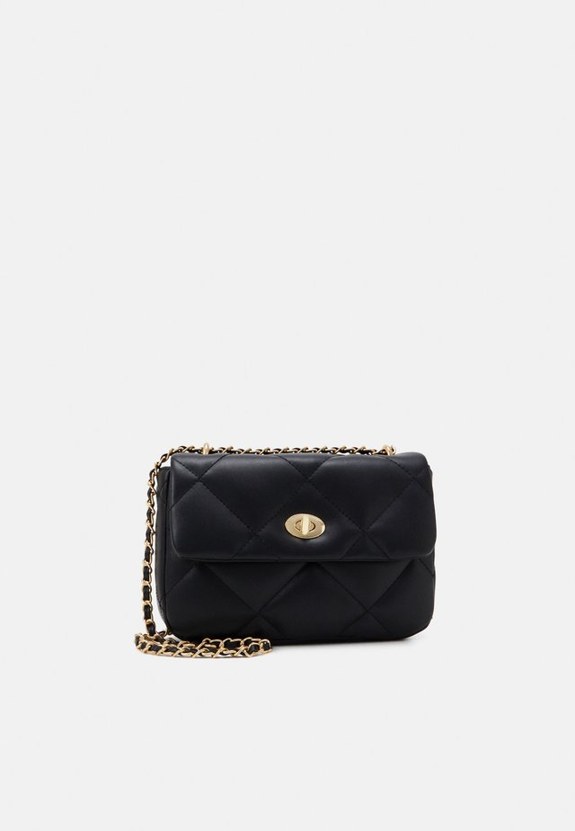 HANNA BAG - Borsa a tracolla - black/gold
