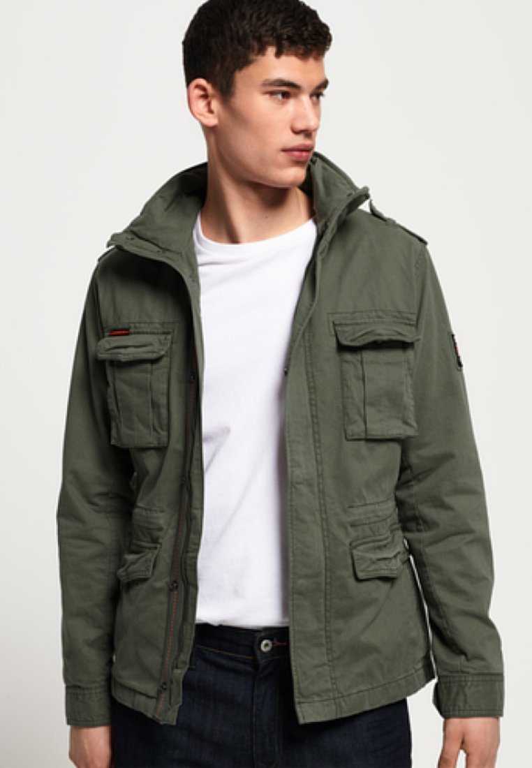 CLASSIC ROOKIE MILITARY JACKET Leichte Jacke green