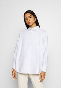 Weekday - EDYN OXFORD - Button-down blouse - blue/white - 0