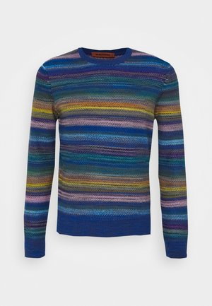 LONG SLEEVE CREW NECK - Strikkegenser - multi
