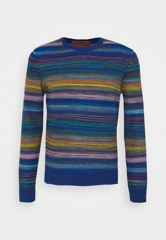 LONG SLEEVE CREW NECK - Jumper - multi