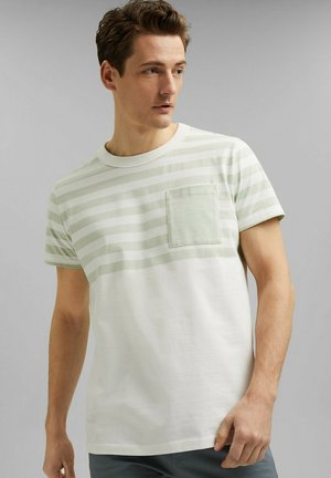 T-Shirt print - pastel green