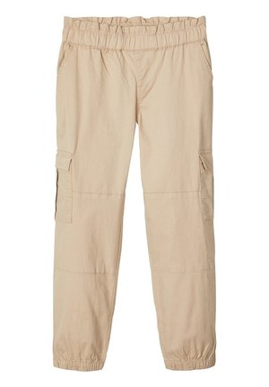 CARGOHOSE LOOSE FIT - Trousers - white pepper