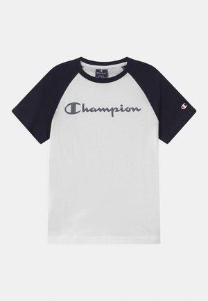 AMERICAN CLASSICS CREWNECK UNISEX - T-shirt z nadrukiem - white