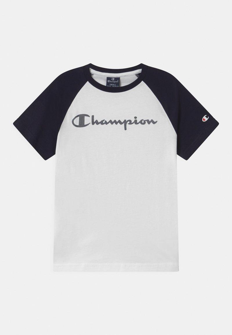 Champion - AMERICAN CLASSICS CREWNECK UNISEX - Triko spotiskem - white