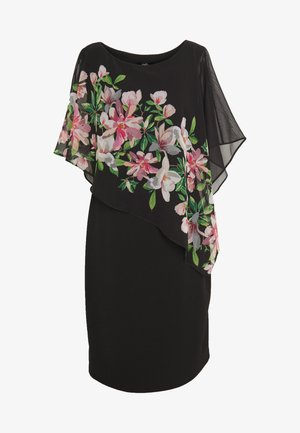 WATERLILY OVERLAYER DRESS - Kjole - black