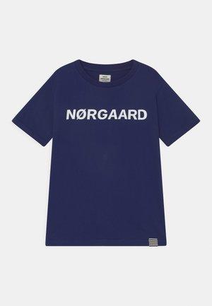 TEE THORLINO UNISEX - T-shirt print - medieval blue