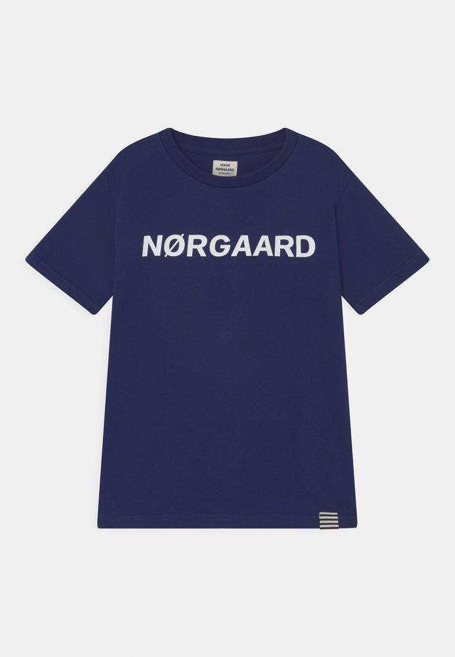 TEE THORLINO UNISEX - Print T-shirt - medieval blue
