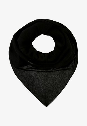TRIANGLE SCARF - Chusta - black