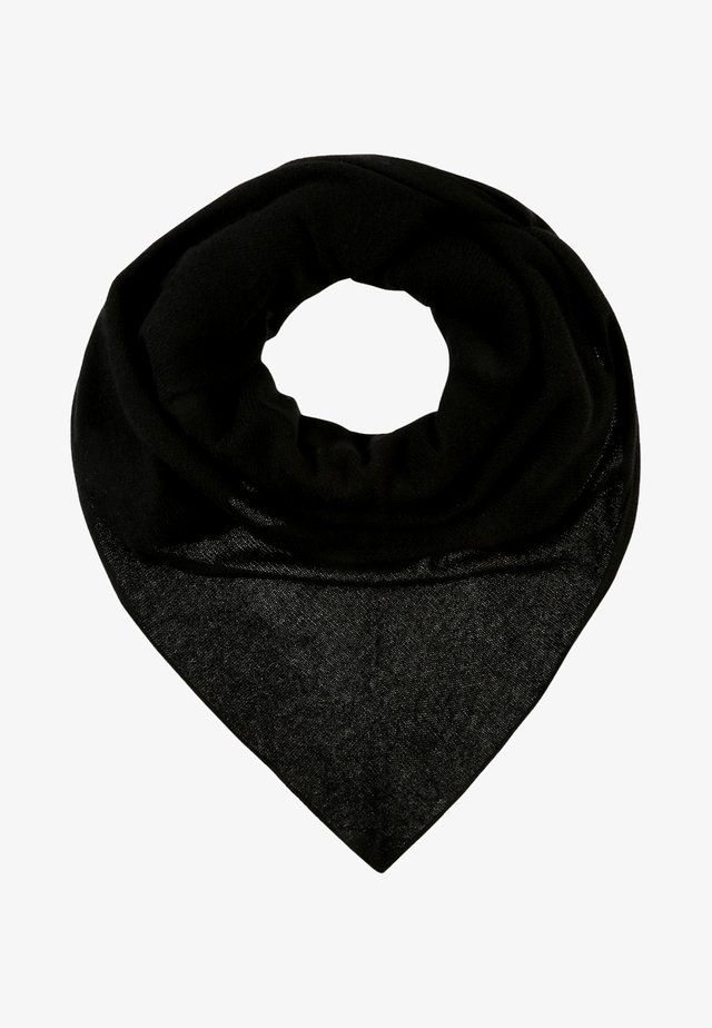 TRIANGLE SCARF - Šátek - black