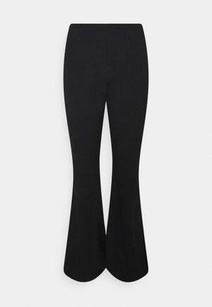 FLARE LEG PANT - Trousers - black