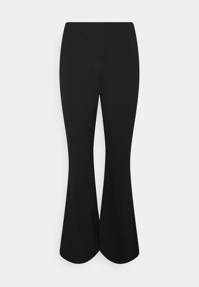FLARE LEG PANT - Trousers - black