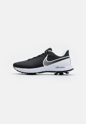 REACT INFINITY PRO - Golf shoes - black/white
