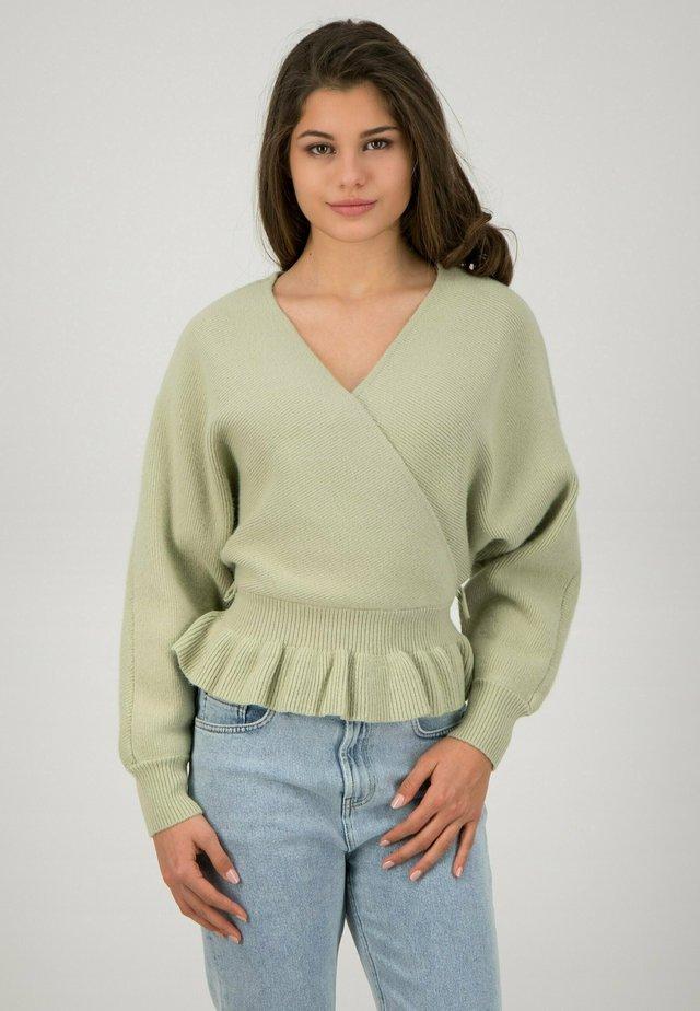 Jumper - mint green