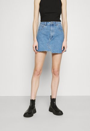 ALINE - Gonna di jeans - light-blue denim
