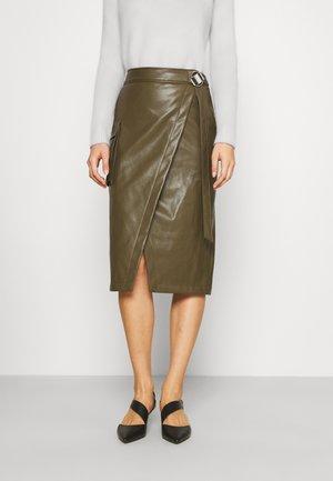 REMALI - Zavinovací sukně - dark beige