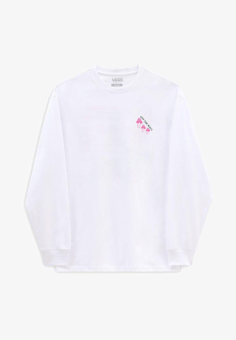 Vans - MN VANS SIGHTS LS - Long sleeved top - white