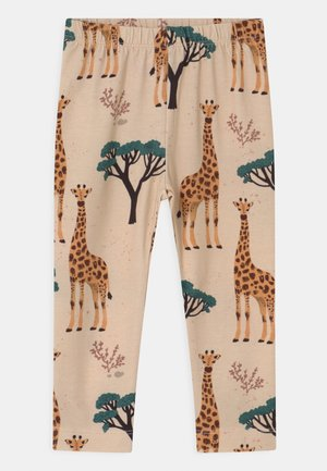 GIRAFFES UNISEX - Leggings - Trousers - orange