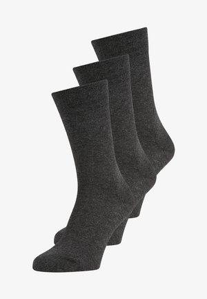 3 PACK - Socks - anthracite