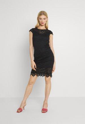 VIEDELLE CAPSLEEVE DRESS - Pouzdrové šaty - black