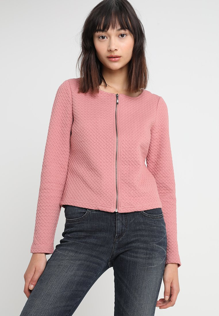 Vila - VINAJA NEW SHORT JACKET - Lehká bunda - ash rose