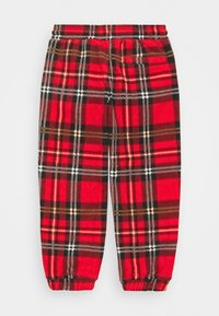 Mini Rodini - BABY CHECK TROUSERS UNISEX - Stoffhose - red - 1