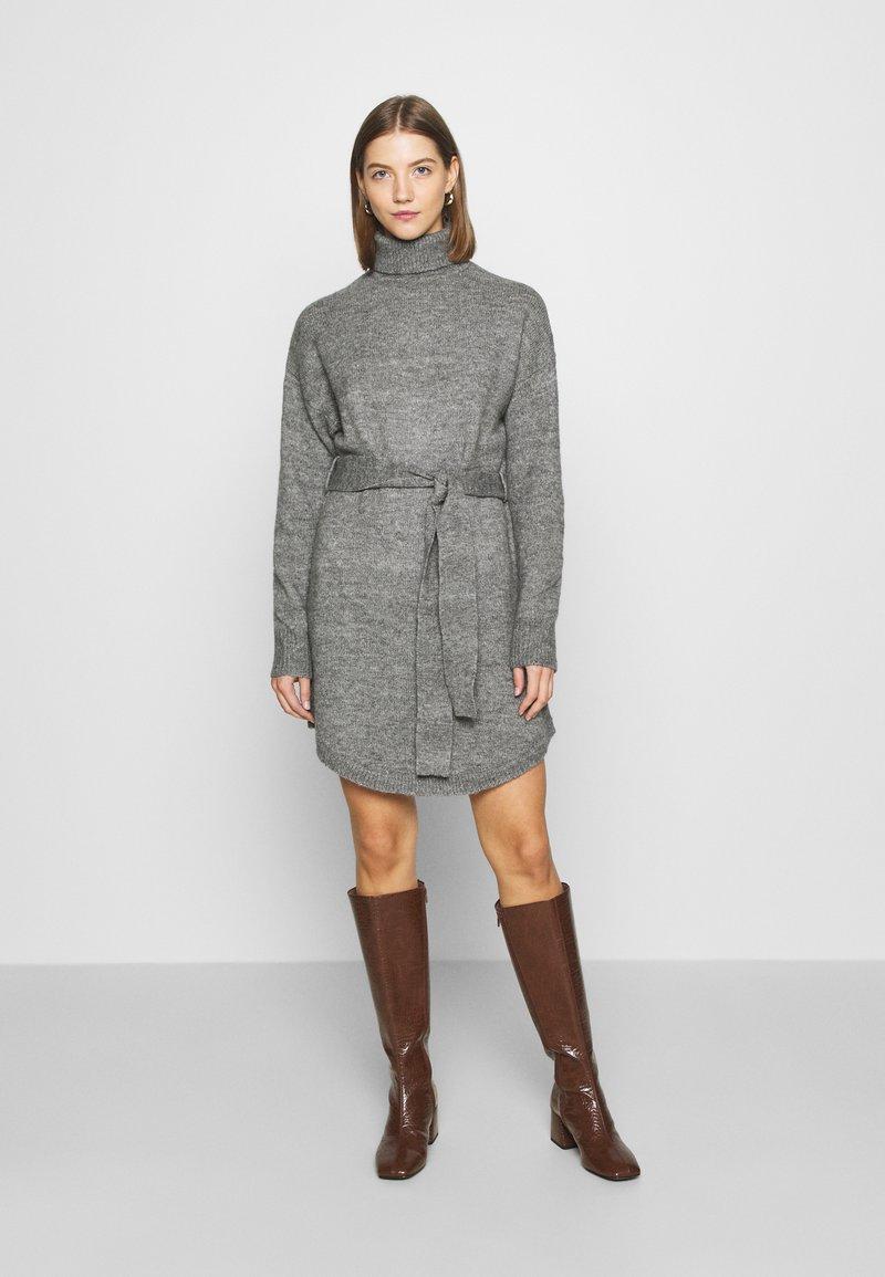 Even&Odd - Abito in maglia - mid grey melange