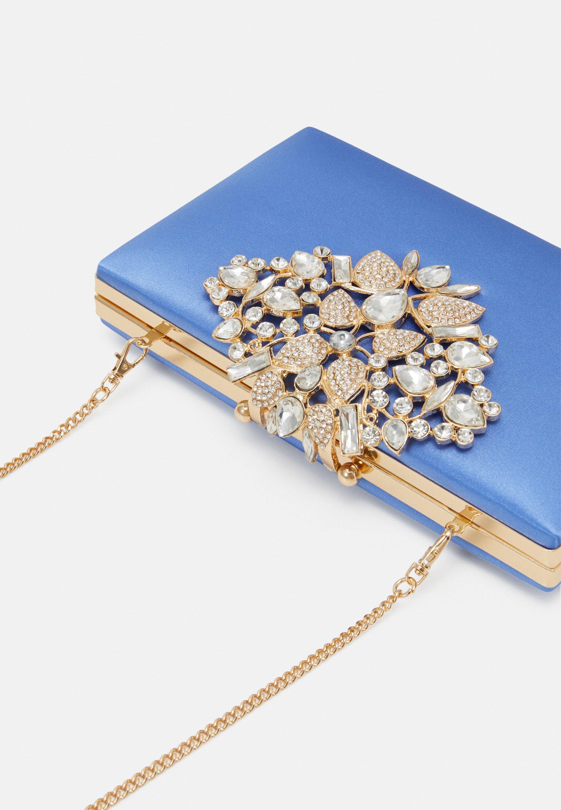 Forever New CANDICE EMBELISHED - Clutch - pale blue/blå nLs4hMoggA9fcKQ