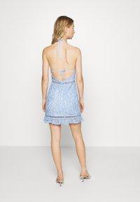 Fashion Union - MELLOW - Sukienka koktajlowa - blue - 2