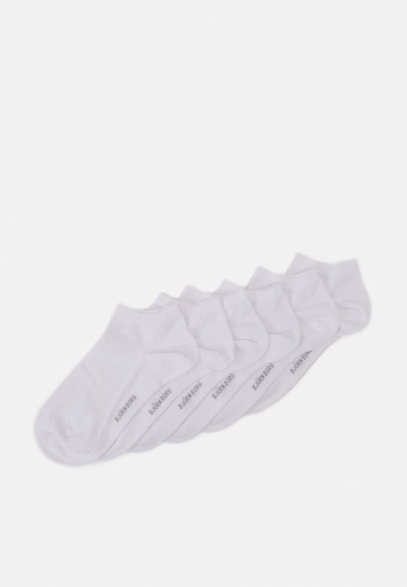 Björn Borg - SOCK STEP SOLID 6 PACK - Calcetines - white