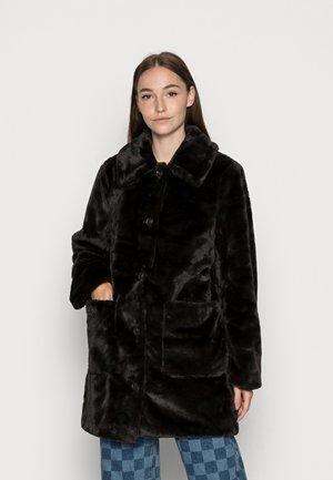 VIBODA COLLAR COAT - Winter coat - black
