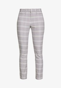 GAP - ANKLE  BISTRETCH - Trousers - grey plaid - 4