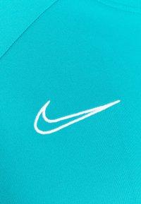 Nike Performance - ACADEMY 21 - T-shirt med print - aquamarine/white - 7